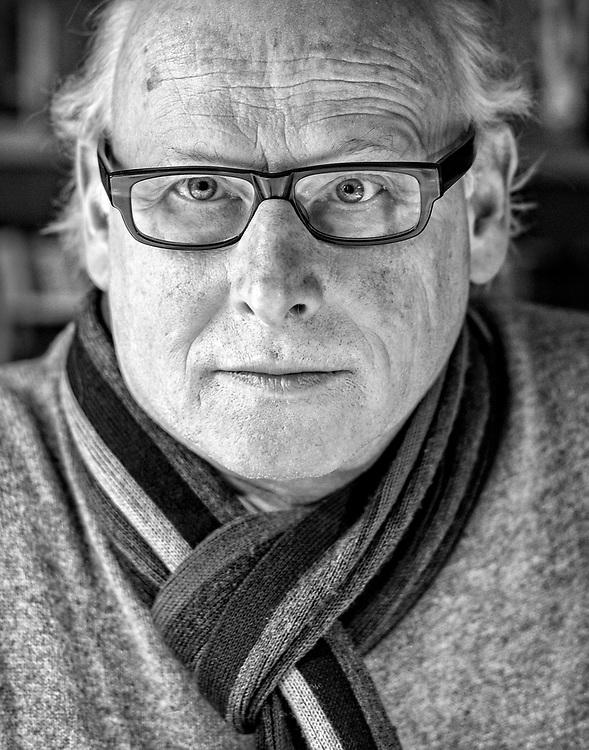 Netherlands. Amsterdam, 04-02-2015. Photo: Patrick Post. Portret van Nederlandse schrijver Oek de Jong.