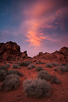 Sunset Clouds, Valley of Fire State Park, Nevada
