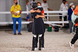 Theodorescu Monica, GER, Von Bredow-Werndl Jessica, GER<br /> Olympic Games Tokyo 2021<br /> © Hippo Foto - Stefan Lafrentz<br /> 27/07/2021