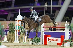 WEISHAUPT Philipp (GER), Coby 8<br /> Doha - CHI Al SHAQAB 2020<br /> Int. jumping competition against the clock (1.50/1.55 m) - CSI 5*<br /> Big Tour<br /> 27. Februar 2020<br /> © www.sportfotos-lafrentz.de/Stefan Lafrentz