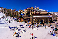 Snowmass/Aspen ski resort, Snowmass Village (Aspen), Colorado USA.