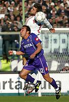 Firenze 20-11-2005<br /> Campionato  Serie A Tim 2005-2006<br /> Fiorentina Milan<br /> nella  foto Shevchenko Andriy , Brocchi<br /> Foto Snapshot / Graffiti