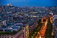 Boulevard Haussmann & Paris Rooftops