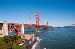 Fort Point, Golden Gate Bridge, San Francisco, California, USA.  Photo copyright Lee Foster.  Photo # california108184