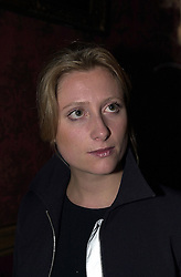 Actress SUSANNAH HARKER at a reception in London on 15th February 2000.OAZ 31