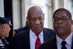 April 26, 2018 - Norristown, Pennsylvania, U.S - Actor Bill Cosby leaves the courtroom after being found guilty on three sexual assault charges in his retrial outside Philadelphia. (Credit Image: © Michael Candelori via ZUMA Wire)