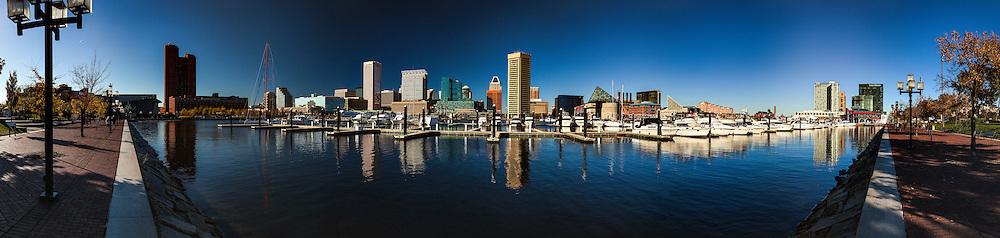 Inner Harbor in Baltimore Maryland