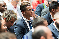 Real Madrid's Cristiano Ronaldo at Seat of Government in Madrid, May 22, 2017. Spain.<br /> (ALTERPHOTOS/BorjaB.Hojas)