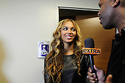 2/3/13 New Orleans LA.-NFL Super Bowl XLV11 Beyonce is pictured after her half time show at the end of game leaving her suite. the Ravens beat the 49ers'.The Baltimore Ravens the in Super Bowl XLV11 in New Orleans at  the Mercedes Benz Super Dome. Photo©Suzi Altman