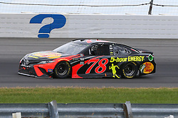 June 3, 2018 - Long Pond, PA, U.S. - LONG POND, PA - JUNE 03:  Martin Truex Jr. (78) drives the.Bass Pro Shops/5-hour ENERGY Toyota during the Monster Energy NASCAR Cup Series - Pocono 400 on June 3, 2018 at Pocono Raceway in Long Pond, PA.  (Photo by Rich Graessle/Icon Sportswire) (Credit Image: © Rich Graessle/Icon SMI via ZUMA Press)