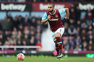 Winston Reid of West Ham United in action. The Emirates FA cup, 3rd round match, West Ham Utd v Wolverhampton Wanderers at the Boleyn Ground, Upton Park  in London on Saturday 9th January 2016.<br /> pic by John Patrick Fletcher, Andrew Orchard sports photography.