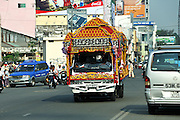 Funeral bus, Ho Chi Minh City (Saigon), Vietnam