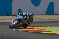 September 23, 2017 - AlcañIz, Teruel, Spain - 73 Alex Marquez (Spa) Eg 0,0 Marc Vds Kalex in the qualifying of the Gran Premio Movistar de Aragon, Circuit of Motorland, Alcañiz, Spain. Saturday, 23rd september, 2017. (Credit Image: © Jose Breton/NurPhoto via ZUMA Press)