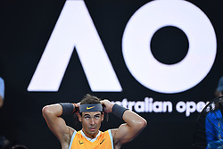 January 24, 2019 - Melbourne, AUSTRALIA - Rafael Nadal (Credit Image: © Panoramic via ZUMA Press)