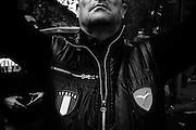 Manifestazione organizzata dai comitati di quartiere delle periferie della Capitale contro l'operato del sindaco, l'immigrazione e il degrado della città, Roma 15 Novembre 2014. Christian Mantuano / OneShot