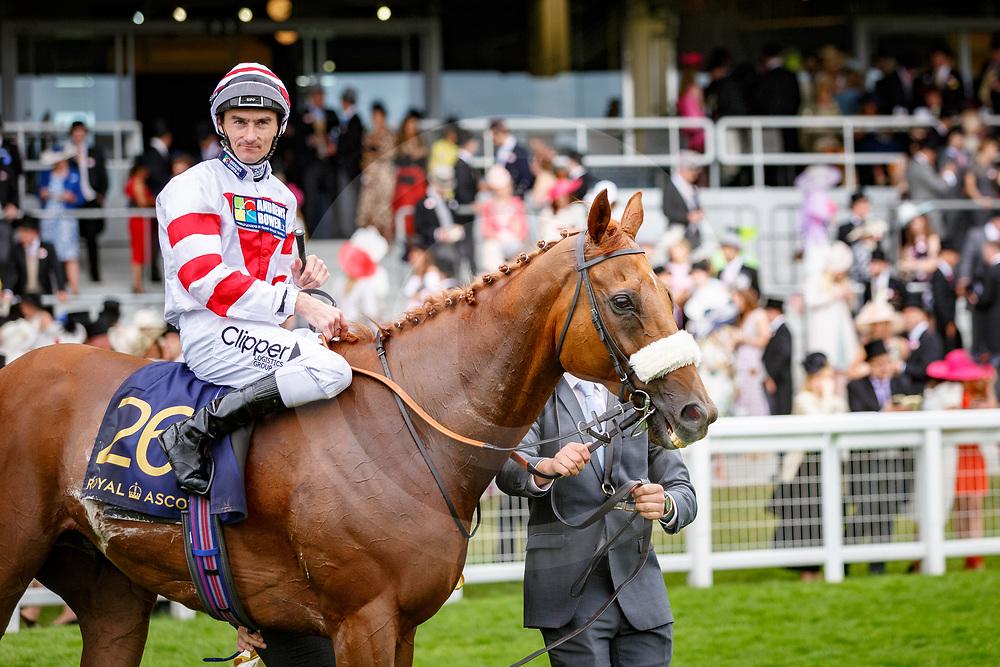 Out Do (D. Tudhope) wins The Wokingham Stakes (Handicap), Royal Ascot 24/06/2017, photo: Zuzanna Lupa / Racingfotos.com