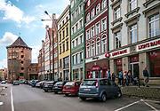Ulica Stągiewna w Gdańsku.