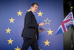 © Licensed to London News Pictures . 25/03/2017 . London , UK . ALASTAIR CAMPBELL . A Unite for Europe anti Brexit march through central London , from Park Lane to Westminster . Protesters are campaigning ahead of the British government triggering Article 50 of the Lisbon Treaty which will initiate Britain's withdrawal from the European Union . Photo credit : Joel Goodman/LNP