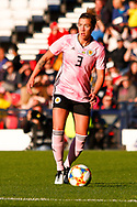 Scotlands Nicola DOCHERTY (Glasgow City LFC (SCO))  during the International Friendly match between Scotland Women and Jamaica Women at Hampden Park, Glasgow, United Kingdom on 28 May 2019.