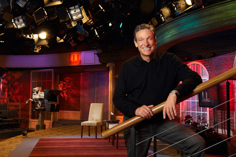Maury Povich, TV talk show host