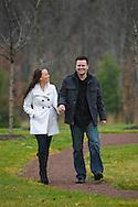 YARDLEY, PA - DECEMBER 5:  Jenn & Bill photographed December 5, 2011 in Yardley, Pennsylvania. (Photo by William Thomas Cain/cainimages.com)