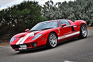 2005 Ford GT (Red / White) .Corporate Drive Day with Octane Events & The Supercar Club.Mornington Pennisula, Victoria .6th-7th of August 2009 .(C) Joel Strickland Photographics
