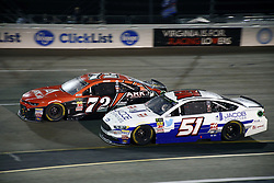 September 22, 2018 - Richmond, Virginia, United States of America - Corey LaJoie (72) battles for position during the Federated Auto Parts 400 at Richmond Raceway in Richmond, Virginia. (Credit Image: © Chris Owens Asp Inc/ASP via ZUMA Wire)