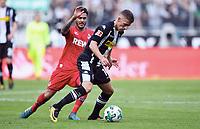 v.l. Leonardo Bittencourt, Thorgan Hazard (Gladbach)<br /> Moenchengladbach, 20.08.2017, Fussball Bundesliga, Borussia Moenchengladbach - 1. FC Köln 1:0<br /> <br /> Norway only