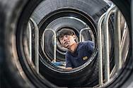 China / Anhui / Hefei 14/11/2014<br /> <br /> Giti Anhui Plant , Production <br /> <br /> © Daniele Mattioli for Giti