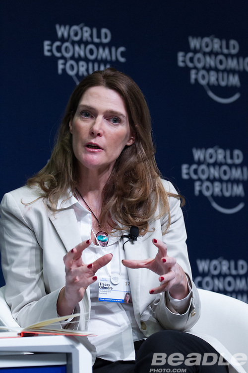 Tracey Gilmore, Co-Founder and Chief Operations Officer<br /> The Clothing Bank at the World Economic Forum on Africa 2017 in Durban, South Africa. Copyright by World Economic Forum / Greg Beadle