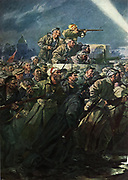 'The storming of the Winter Palace, St Petersbur/Lenigrad, October 1917, the October Revolution.'