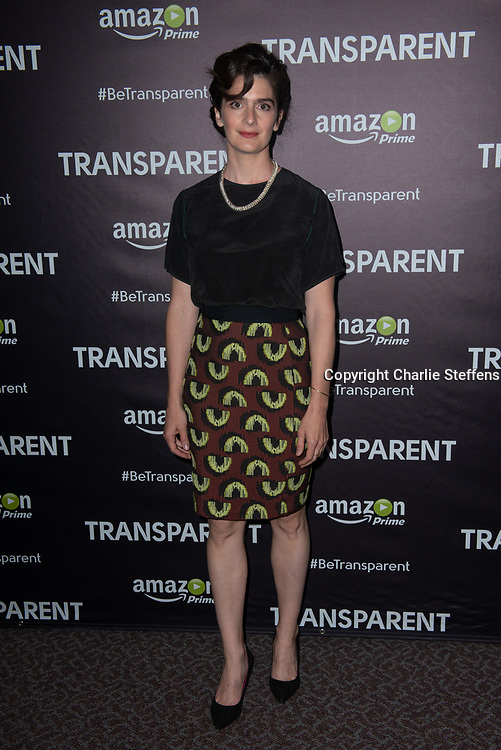 GABY HOFFMANN attends the Emmy FYC Screening of Amazon's Original Series 'Transparent' at Directors Guild of America in Los Angeles, California