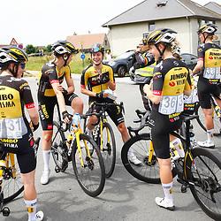 KNOKKE HEIST (BEL) July 10 CYCLING: 2nd Stage Baloise Belgium tour: Team Jumbo-Visma women