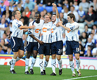 St Andrews Ground Birmingham City v Bolton Wanderers  (1-2)  Premier League 26/09/2009<br /> Tamir Cohen  (Bolton) celebrates opening goal<br /> <br /> Norway only