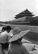 C008-26 Tom Hutchins_Boys sketching, Tien An Men, Peking (Beijing), China 1956 A2.tif