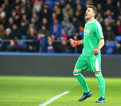 December 26, 2018 - London, England, United Kingdom - London, England - 26 December, 2018.Crystal Palace's Vicente Guaita.during English Premier League between Crystal Palace and Cardiff City at Selhurst Park stadium , London, England on 26 Dec 2018. (Credit Image: © Action Foto Sport/NurPhoto via ZUMA Press)