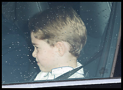 December 18, 2019, London, London, United Kingdom: Image licensed to i-Images Picture Agency. 18/12/2019. London, United Kingdom. Prince George arriving at  The Queen's Christmas Party at Buckingham Palace in London  (Credit Image: © Stephen Lock/i-Images via ZUMA Press)