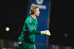 William Eskelinen of AGF Aarhus during football match between NS Mura and AGF Aarhus in Second Round of UEFA Europa League Qualifications, on September 17, 2020 in Stadium Fazanerija, Murska Sobota, Slovenia. Photo by Blaz Weindorfer / Sportida