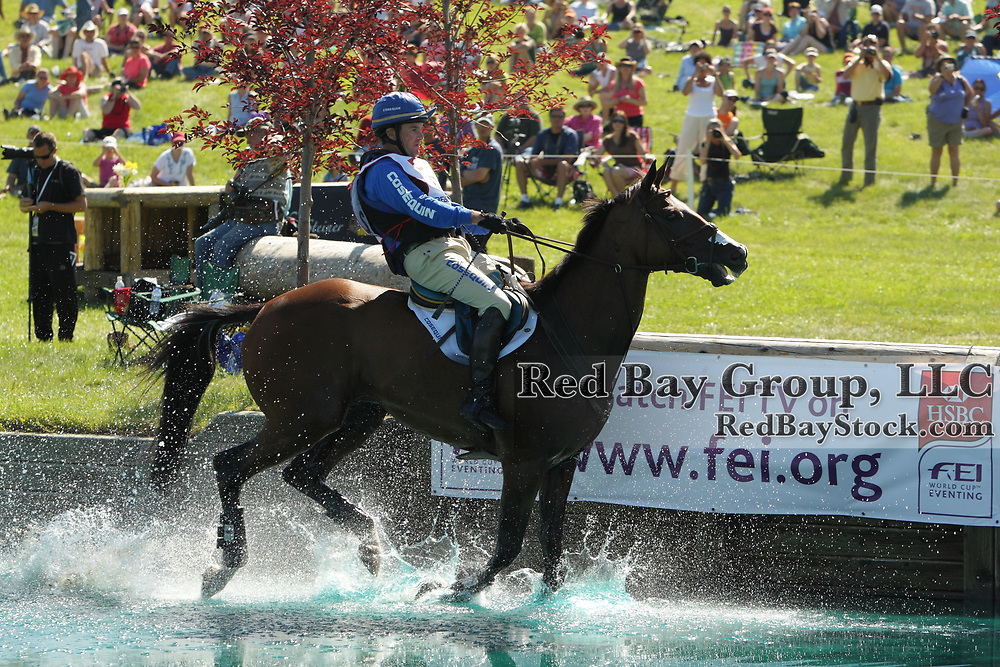Phillip Dutton and Truluck at the 2010 Event at Rebecca Farm held in Kalispell, Montana.