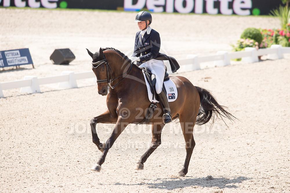 Mary Hanna (AUS) & Umbro - Dressage Grand Prix - CDIO5 - CHIO Rotterdam 2016 - Kralingse Bos, Rotterdam, Netherlands - 23 June 2016