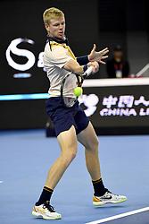 October 8, 2018 - Beijing, Beijing, China - Beijing, CHINA-Professional tennis player Nikoloz Basilashvili defeats Kyle Edmund 2-0 at the semi-final of 2018 China Open in Beijing, China, October 6th, 2018. (Credit Image: © SIPA Asia via ZUMA Wire)