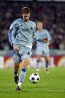 Fotball<br /> UEFA Champions League 2003/2004<br /> 04.11.2003<br /> Club Brügge / Brugge v AC Milan<br /> David Rozehnal - Brugge<br /> Foto: Morten Olsen, Digitalsport