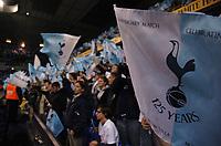 Photo: Tony Oudot.<br /> Tottenham Hotspur v Aston Villa. The FA Barclays Premiership. 01/10/2007.<br /> Tottenham fans celebrate their 125 years