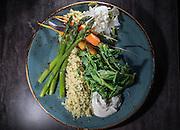 Vegetarian dish. (Dean Rutz / The Seattle Times)
