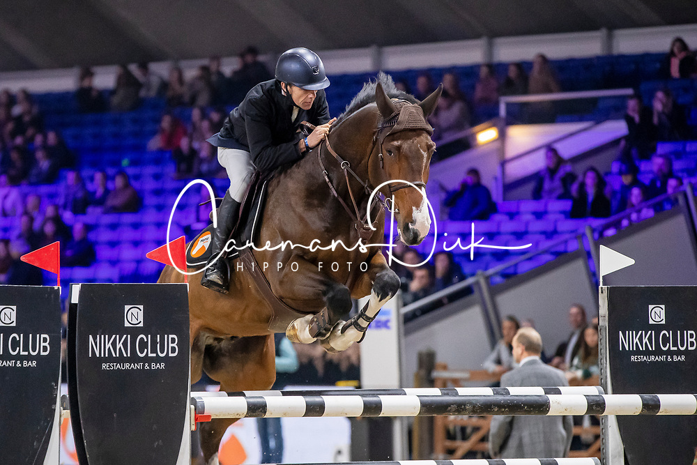 Vermeir Wilm, BEL, Big Lord Carthago<br /> Jumping Mechelen 2019<br /> © Hippo Foto - Dirk Caremans<br />  26/12/2019