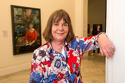 In the picture - Julia Donaldson. National Portrait Gallery.<br /> Unveiling of portrait of Children's Laureate and writer Julia Donaldson sitting in her props cupboard by artist Peter Monkman. <br /> Monday 3rd, June 2013<br /> Picture by i-Images