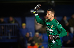 November 30, 2017 - Vila-Real, Castellon, Spain - Sergio Asenjo of Villarreal CF during the Copa del Rey, Round of 32, Second Leg match between Villarreal CF and SD Ponferradina at Estadio de la Ceramica on november 30, 2017 in Vila-real, Spain. (Credit Image: © Maria Jose Segovia/NurPhoto via ZUMA Press)