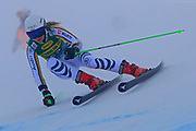SOELDEN, AUSTRIA. OCTOBER 17 2020:  1st Women's Giant Slalom as part of the Alpine Ski World Cup in Solden on October 17, 2020; Run 1, Jessica Hilzinger (GER) ( Pierre Teyssot/ESPA Images-Image of Sport)
