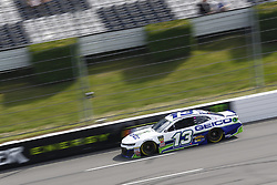 June 1, 2018 - Long Pond, Pennsylvania, United States of America - Ty Dillon (13) brings his car down the frontstretch during qualifying for the Pocono 400 at Pocono Raceway in Long Pond, Pennsylvania. (Credit Image: © Chris Owens Asp Inc/ASP via ZUMA Wire)