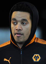 Helder Costa of Wolverhampton Wanderers looks on - Mandatory by-line: Nizaam Jones/JMP- 17/01/2018 - FOOTBALL - Liberty Stadium- Swansea, Wales - Swansea City v Wolverhampton Wanderers - Emirates FA Cup third round proper